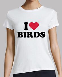 amo a los pájaros