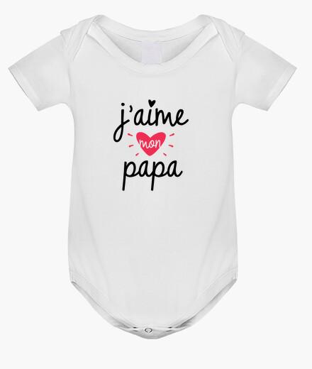 Ropa infantil Amo a mi bebé papá de nacimiento