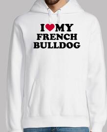 amo a mi bulldog francés
