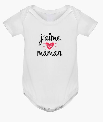 Ropa infantil Amo a mi madre nacimiento de bebé