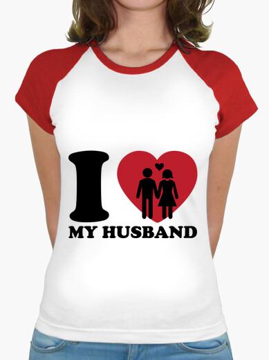 Camiseta amo a mi marido
