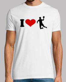 amo al jugador de balonmano