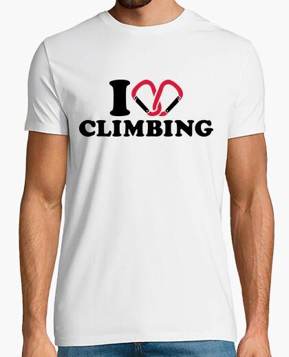 b0f72636c369a9 T-shirt amo arrampicata moschettone - 1102262 | Tostadora.it