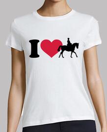 amo caballos de equitación