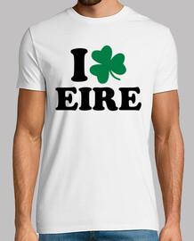 amo eire irlanda trébol