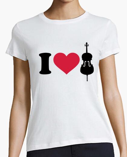 Camiseta amo el cello