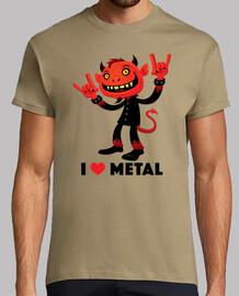 amo el diablo de metal