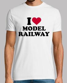 amo el modelo de ferrocarril