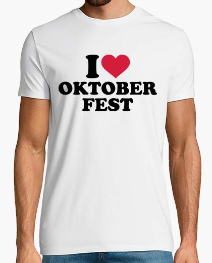 Camiseta amo el oktoberfest