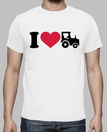amo el tractor