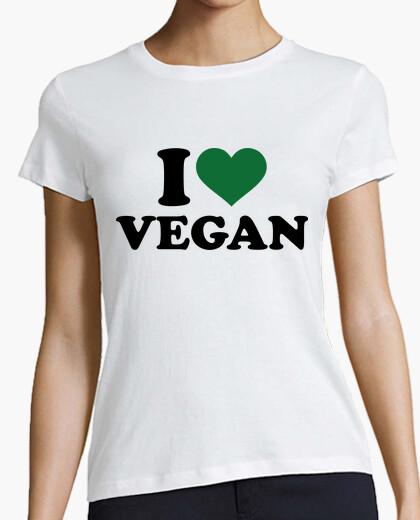 Camiseta amo el vegano
