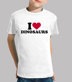 amo i dinosauri