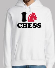 amo il cavallo degli scacchi