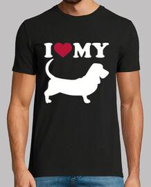 amo il mio basset hound
