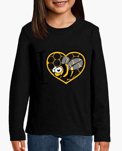 Ropa infantil amo la abeja