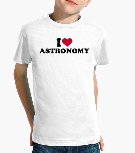 Ropa infantil amo la astronomía