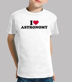 amo la astronomía