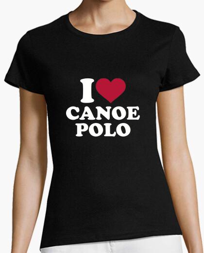 T-shirt amo la canoa polo