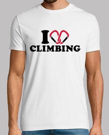 amo la escalada mosquetón