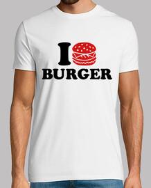 amo la hamburguesa