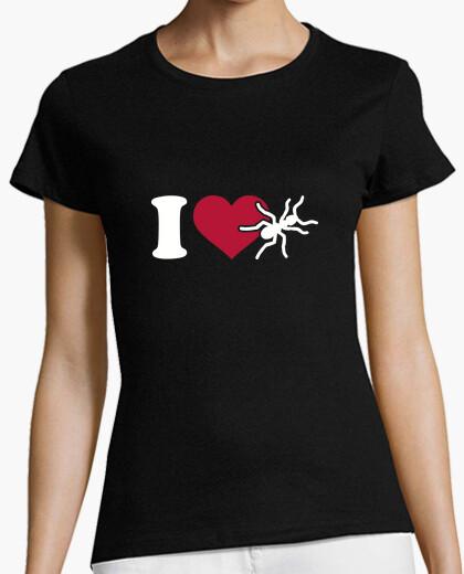 Camiseta amo la hormiga