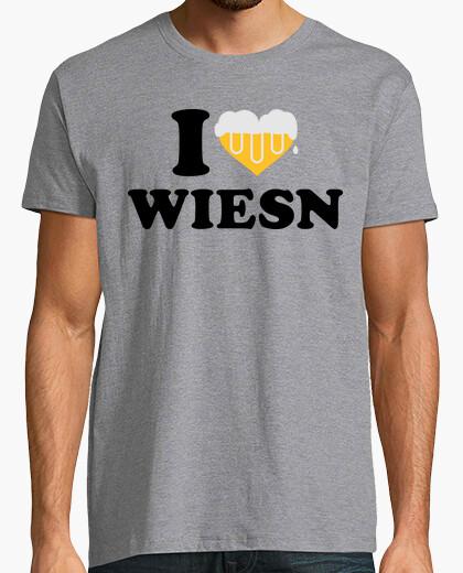 Camiseta amo la más oktoberfest wiesn