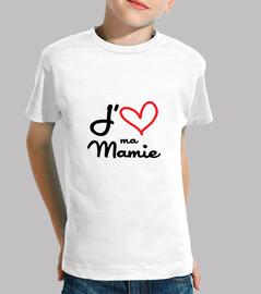 Amo la mia nonna / nonna / nonna