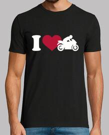 amo la motocicleta