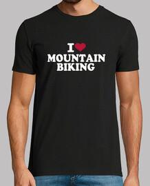 amo la mountain bike