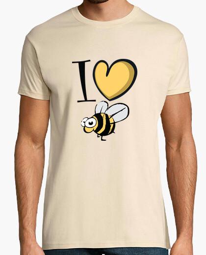 Camiseta amo las abejas