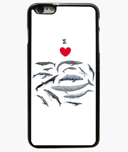 Funda iPhone 6 Plus / 6S Plus Amo las ballenas funda