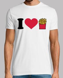 amo las papas fritas