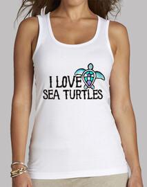 amo las tortugas marinas