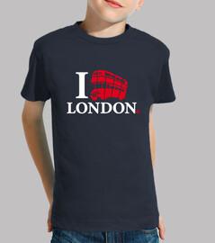 Amo Londres y su autobús de doble piso