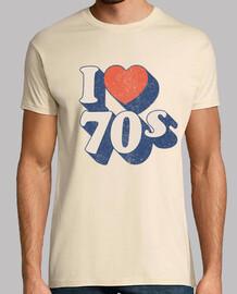 amo los años 70
