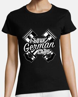 Amo los coches alemanes regalo para sin