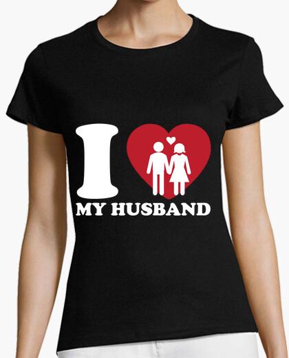 T-shirt amo mio marito
