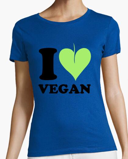 Camiseta amo vegano