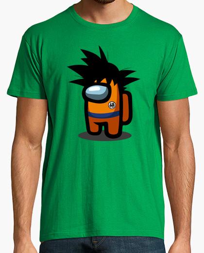 Camiseta Among Us Goku
