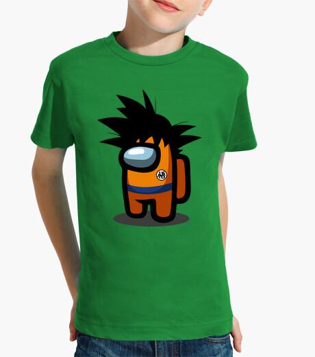 Ropa infantil Among Us Goku