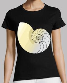 Amonita / Nautilus / Caracola / Fibonac