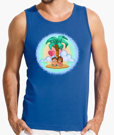 Camiseta amor aventura isla