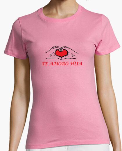 Camiseta Amor de madre a hija con estilo y corazón