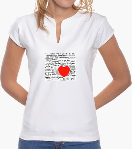 Camiseta AMOR idiomas