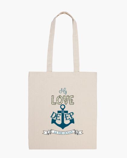Bolsa Amor marinero
