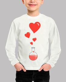amor matraz química del friki de los corazones blancos