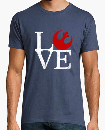 Camiseta amor rebelde