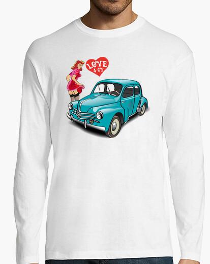 T-shirt amore 4cv, milky verza