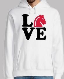 amore cavallo scacchi