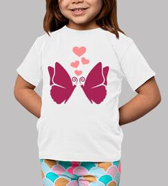 amore di cuori di farfalle
